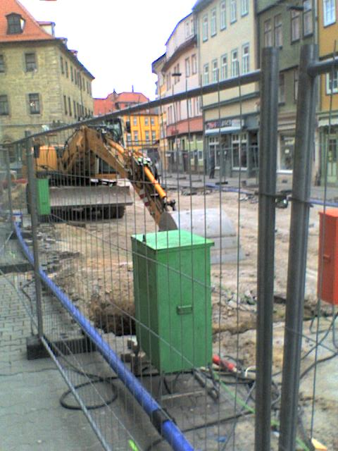 Bad Langensalza Innenstadt -> Umbau