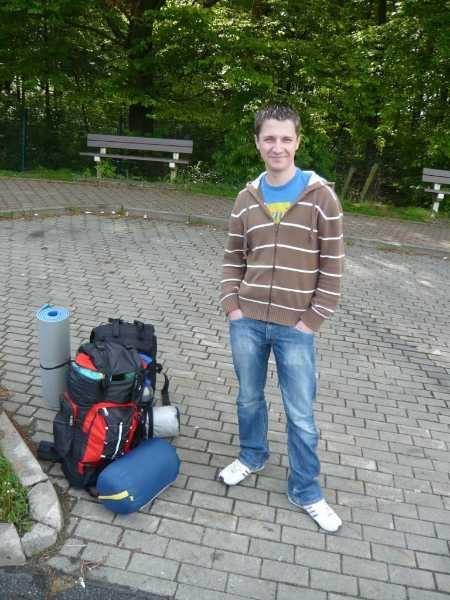 Trampen nach Nuernberg