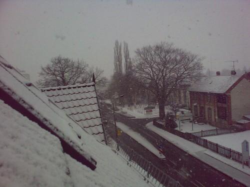 Schnee Bad Langensalza