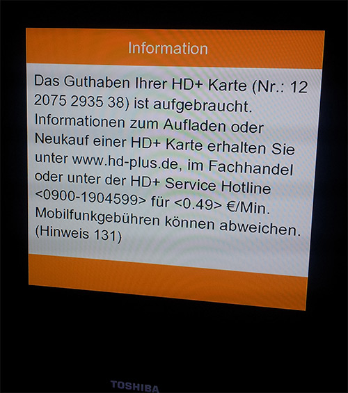 Hd Plus Karte Aufladen.Hd Plus Meintag Blog De