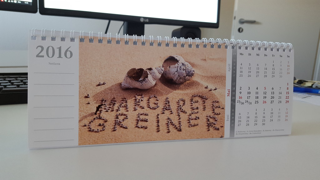 Bildpersonalisierung Kalender