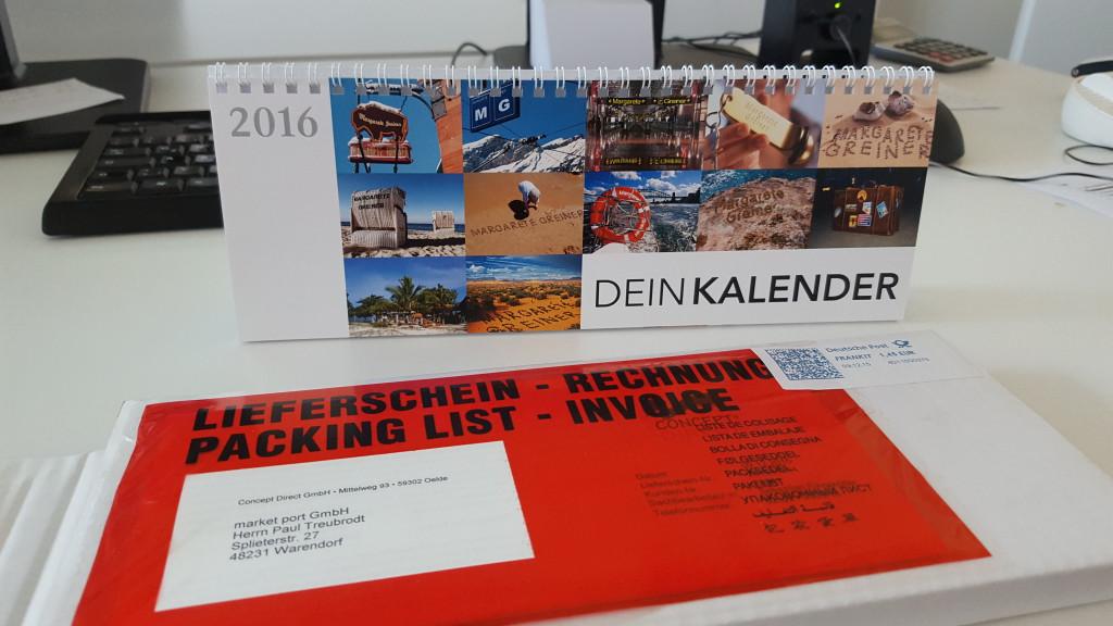 Individualisierbarer Kalender