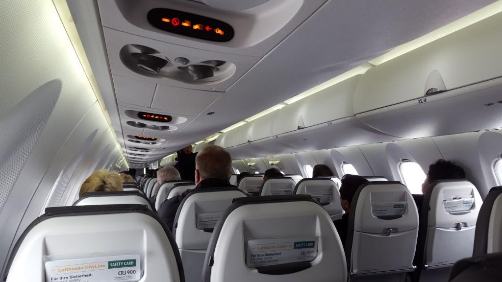 Münster -> Frankfurt Lufthansa CRJ900